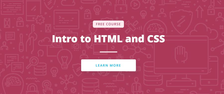 Введение в HTML/CSS от Udacity
