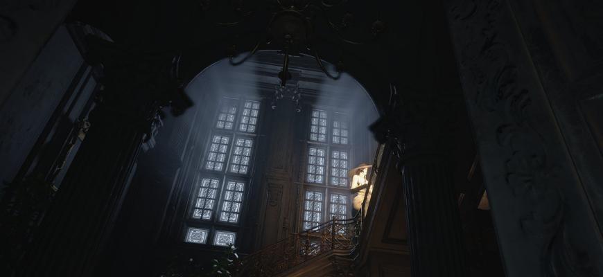Маска печали Resident Evil: Village и загадка со статуями