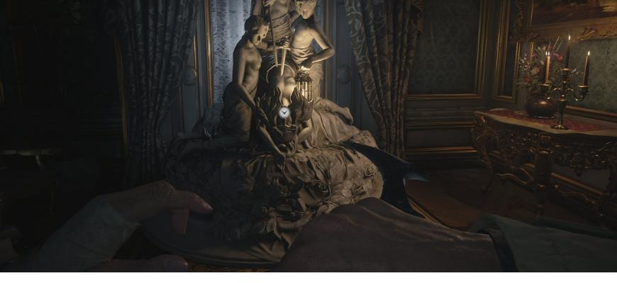 Маска наслаждения Resident Evil: Village и загадка с чучелом оленя