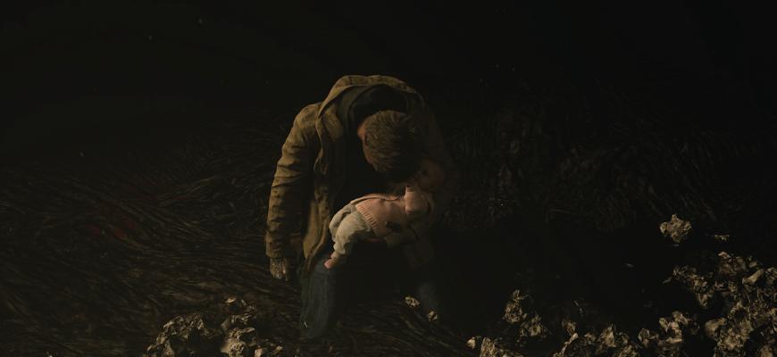 Итан и его дочь Роза