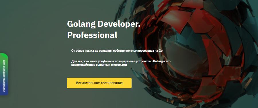 Курс Golang Developer. Pro от Otus