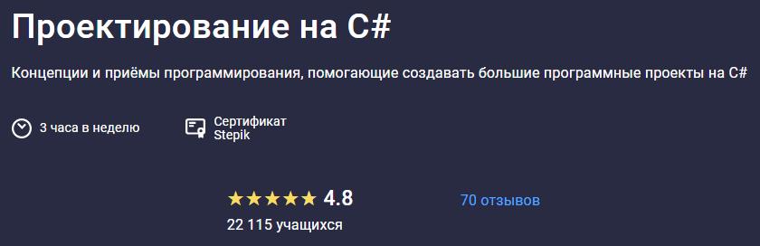 Программирование на C# от Павла Егорова
