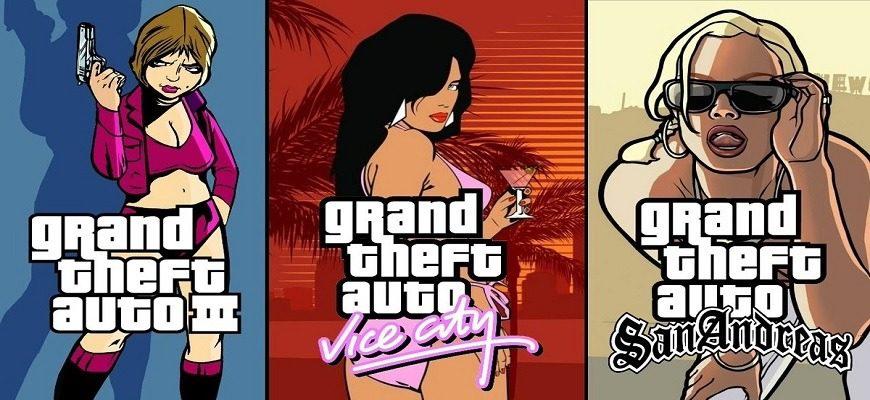 Ремастеры трилогии GTA на Unreal Engine выйдут осенью 2021 года