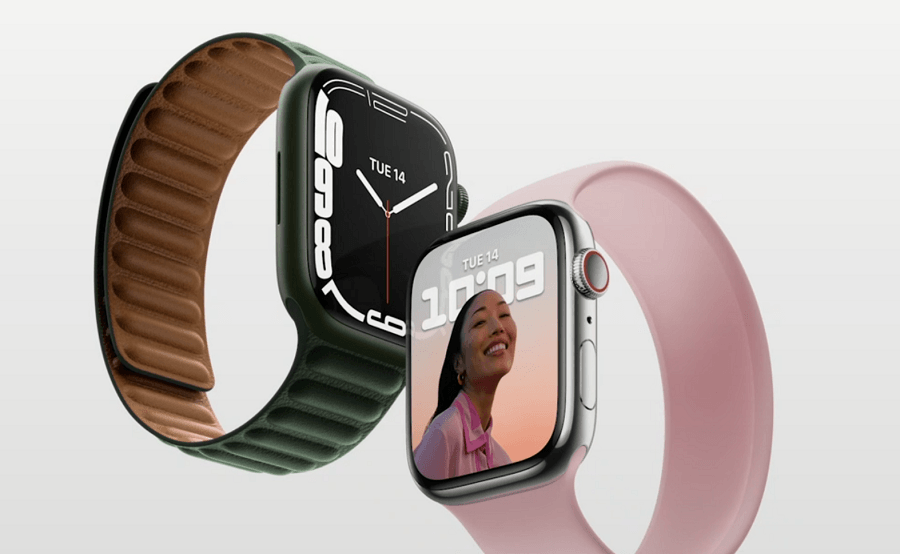 Apple Watch Series 7 с презентации Apple 14 сентября 2021 года