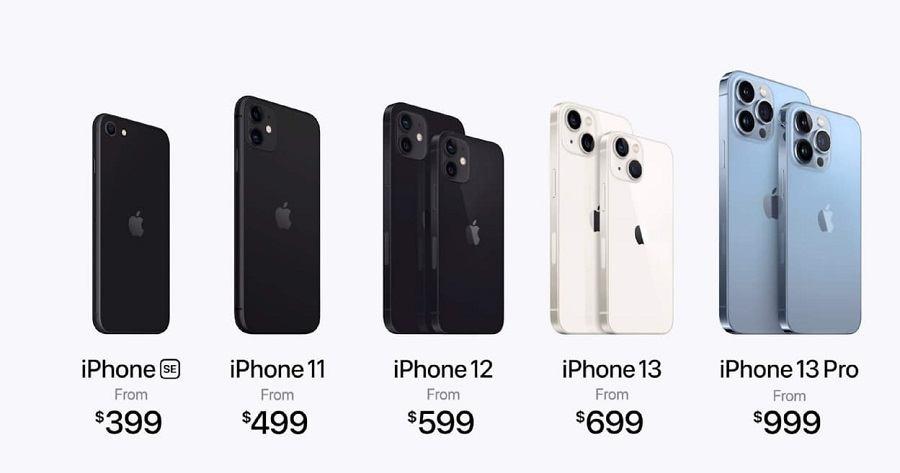 Цена на новый iPhone 13