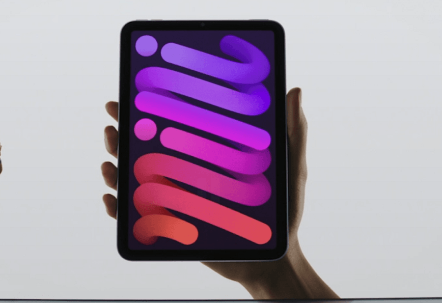 iPad mini с презентации Apple 14 сентября 2021 года