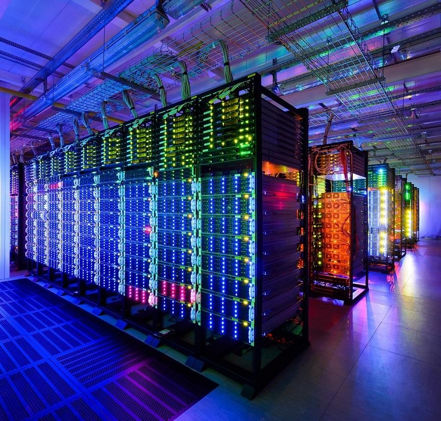 Компьютерные сервера крупных компаний