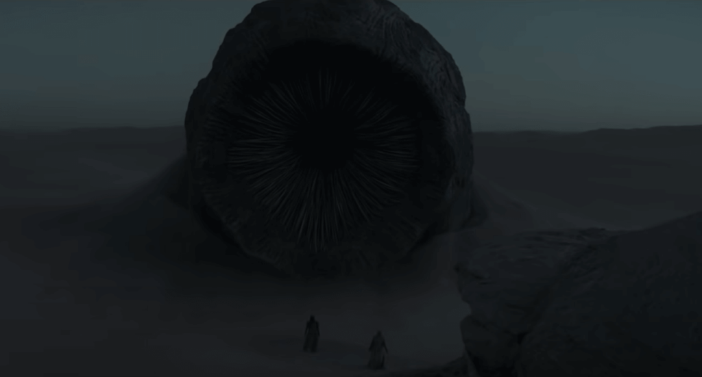 Огромный червь из фильма Дюна