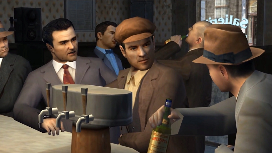 Распродажа Mafia 1 в стиме
