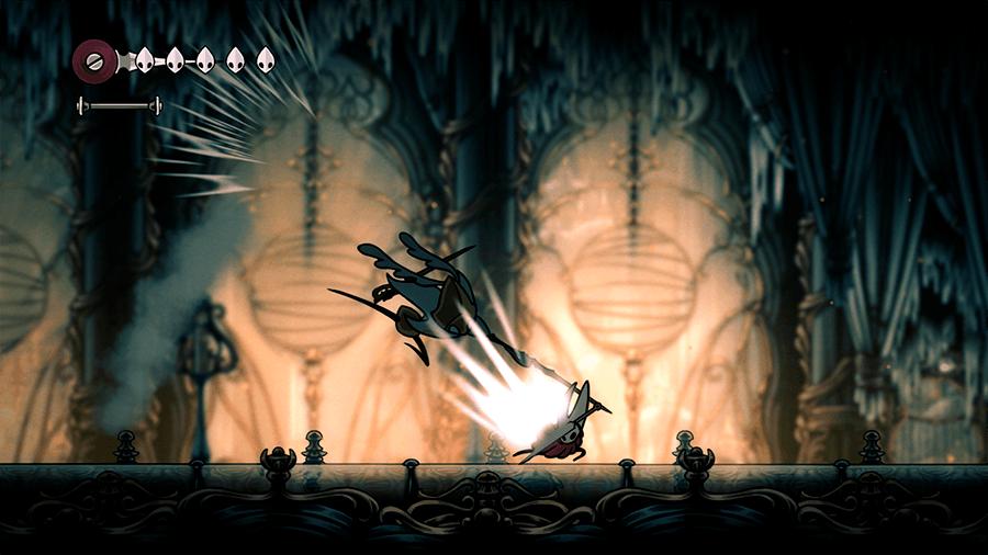 Еще геймплей Hollow Knight Silksong